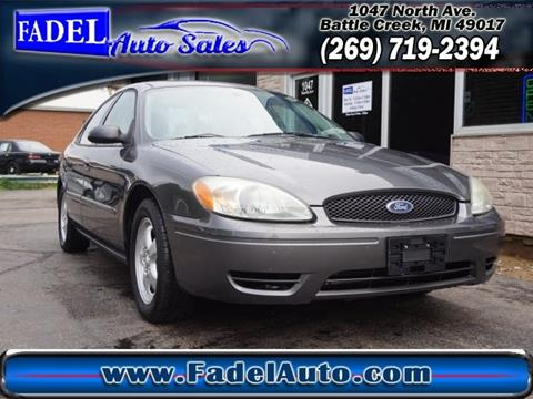 2004 Ford Taurus for sale at Fadel Auto Sales in Battle Creek MI