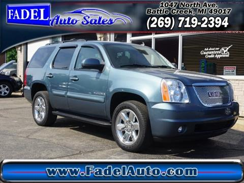 2009 GMC Yukon for sale at Fadel Auto Sales in Battle Creek MI