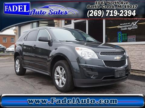 2014 Chevrolet Equinox for sale at Fadel Auto Sales in Battle Creek MI