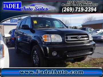 2004 Toyota Sequoia for sale at Fadel Auto Sales in Battle Creek MI