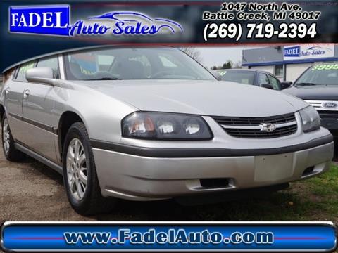2005 Chevrolet Impala for sale at Fadel Auto Sales in Battle Creek MI