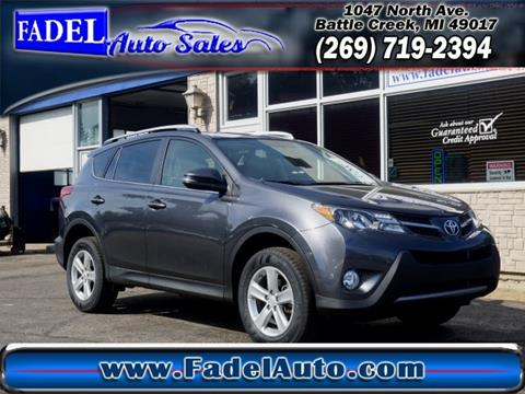 2013 Toyota RAV4 for sale at Fadel Auto Sales in Battle Creek MI