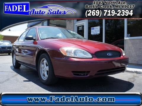2005 Ford Taurus for sale at Fadel Auto Sales in Battle Creek MI