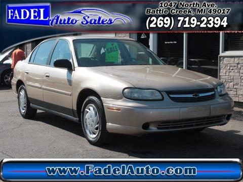 2001 Chevrolet Malibu for sale at Fadel Auto Sales in Battle Creek MI