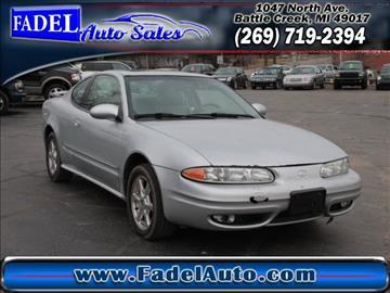 2001 Oldsmobile Alero for sale at Fadel Auto Sales in Battle Creek MI