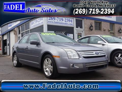 2007 Ford Fusion for sale at Fadel Auto Sales in Battle Creek MI