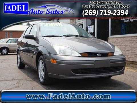 2002 Ford Focus for sale at Fadel Auto Sales in Battle Creek MI