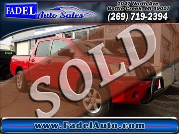 2011 Nissan Titan for sale at Fadel Auto Sales in Battle Creek MI