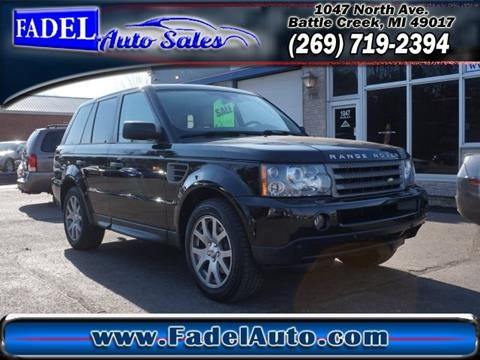 2008 Land Rover Range Rover Sport for sale at Fadel Auto Sales in Battle Creek MI