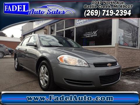 2008 Chevrolet Impala for sale at Fadel Auto Sales in Battle Creek MI