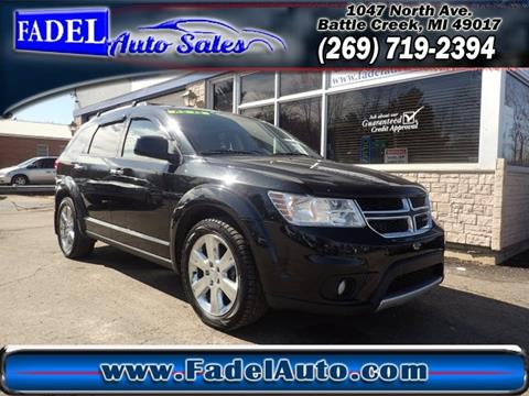 2012 Dodge Journey for sale at Fadel Auto Sales in Battle Creek MI