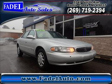 2002 Buick Century for sale at Fadel Auto Sales in Battle Creek MI