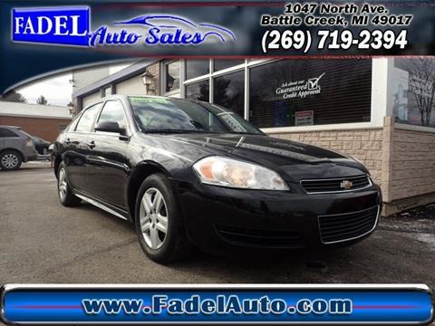 2010 Chevrolet Impala for sale at Fadel Auto Sales in Battle Creek MI