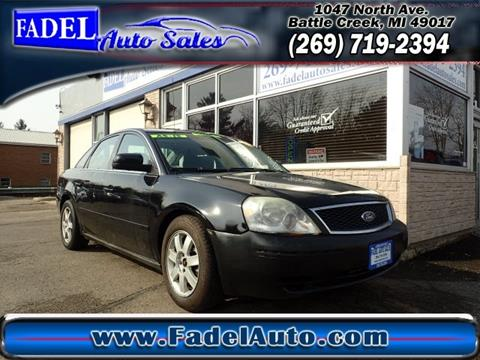 2005 Ford Five Hundred for sale at Fadel Auto Sales in Battle Creek MI