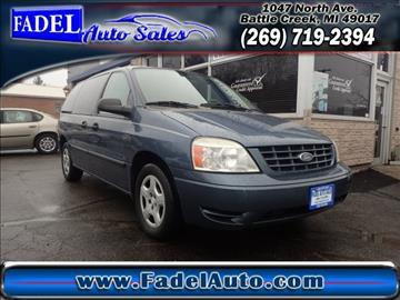 2006 Ford Freestar for sale at Fadel Auto Sales in Battle Creek MI