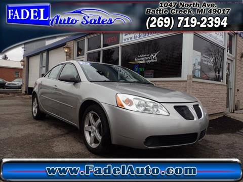 2007 Pontiac G6 for sale at Fadel Auto Sales in Battle Creek MI