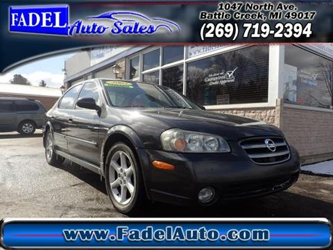 2002 Nissan Maxima for sale in Battle Creek, MI