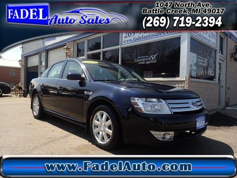 2009 Ford Taurus for sale at Fadel Auto Sales in Battle Creek MI