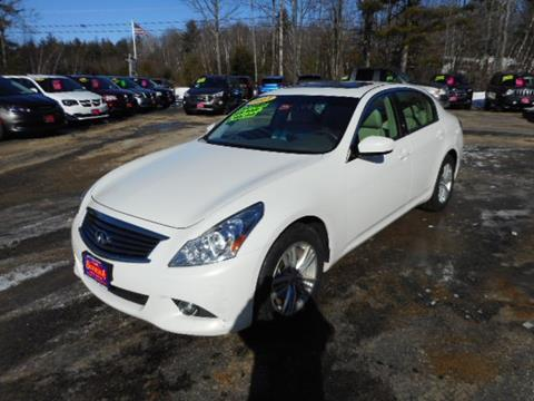used 2013 infiniti g37 for sale in maine. Black Bedroom Furniture Sets. Home Design Ideas