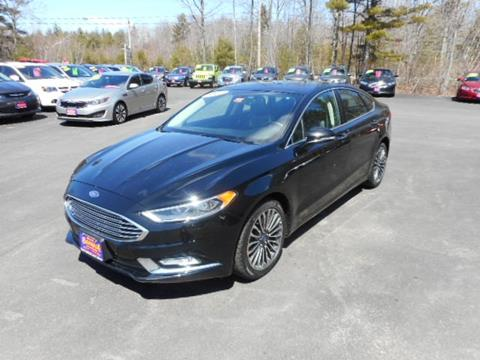 Ford Fusion For Sale Near Me >> 2017 Ford Fusion For Sale In Maine Carsforsale Com