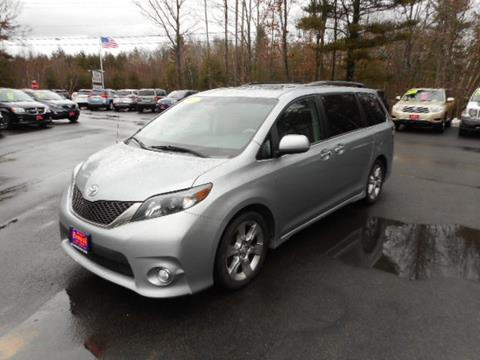 toyota sienna for sale in maine. Black Bedroom Furniture Sets. Home Design Ideas
