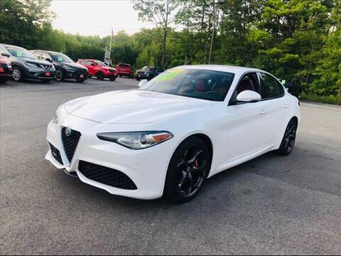 2017 Alfa Romeo Giulia for sale at North Berwick Auto Center in Berwick ME