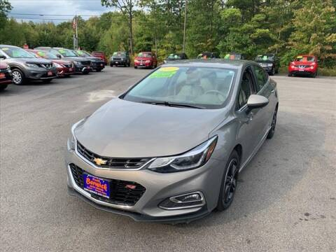 2017 Chevrolet Cruze for sale at North Berwick Auto Center in Berwick ME