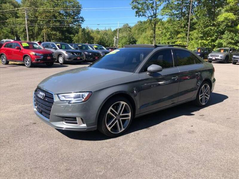 2017 Audi A3 for sale at North Berwick Auto Center in Berwick ME