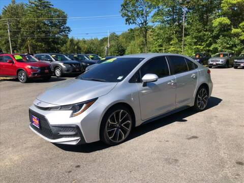 2020 Toyota Corolla for sale at North Berwick Auto Center in Berwick ME