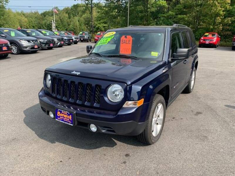 2015 Jeep Patriot for sale at North Berwick Auto Center in Berwick ME