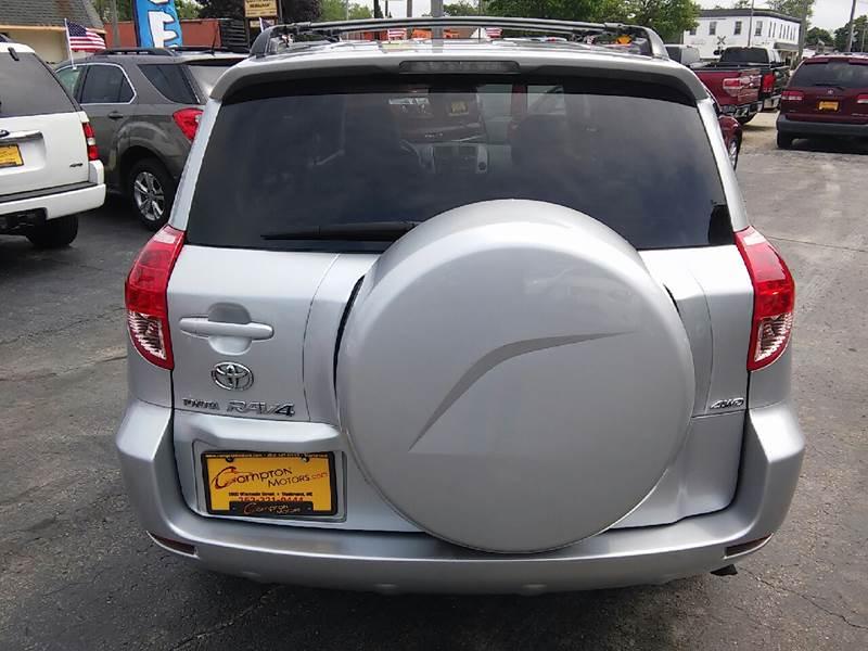 2007 Toyota RAV4 for sale at COMPTON MOTORS LLC in Sturtevant WI