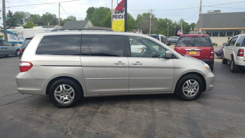 2007 Honda Odyssey for sale at COMPTON MOTORS LLC in Sturtevant WI