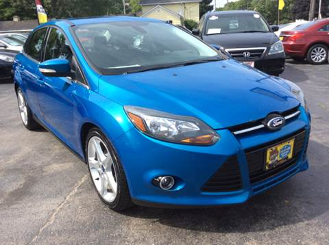 2012 Ford Focus for sale at COMPTON MOTORS LLC in Sturtevant WI