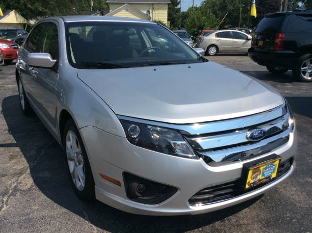 2012 Ford Fusion for sale at COMPTON MOTORS LLC in Sturtevant WI