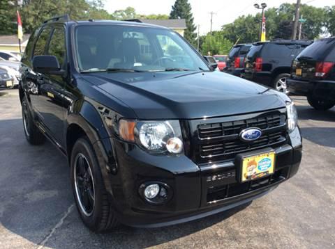 2010 Ford Escape for sale at COMPTON MOTORS LLC in Sturtevant WI