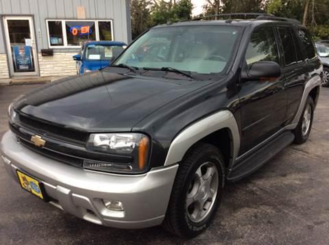 2005 Chevrolet TrailBlazer for sale at COMPTON MOTORS LLC in Sturtevant WI