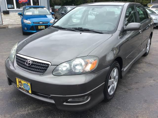 2005 Toyota Corolla for sale at COMPTON MOTORS LLC in Sturtevant WI