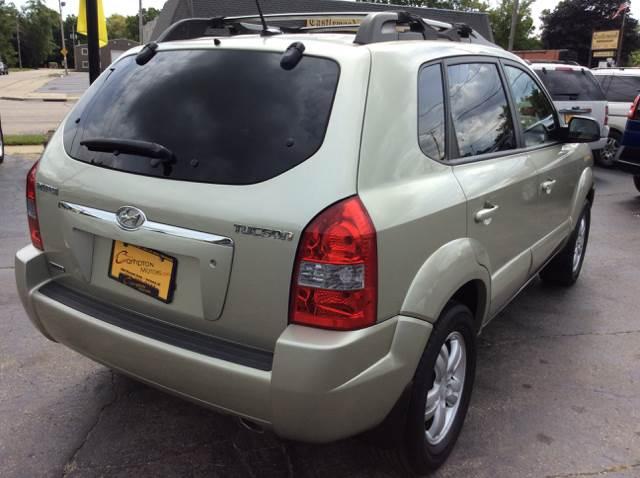 2008 Hyundai Tucson for sale at COMPTON MOTORS LLC in Sturtevant WI