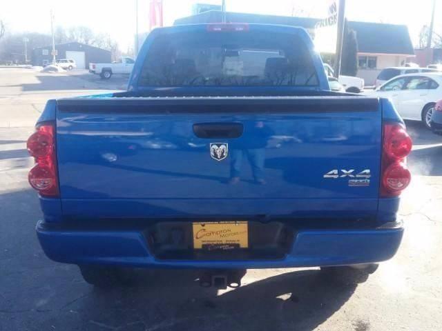 2007 Dodge Ram Pickup 1500 for sale at COMPTON MOTORS LLC in Sturtevant WI