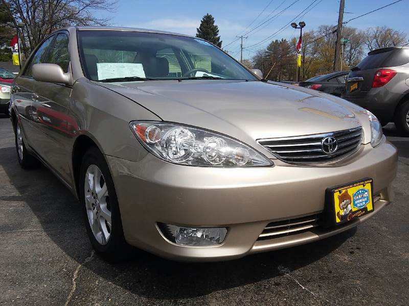 2005 Toyota Camry for sale at COMPTON MOTORS LLC in Sturtevant WI