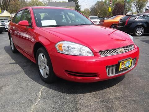 2013 Chevrolet Impala for sale at COMPTON MOTORS LLC in Sturtevant WI