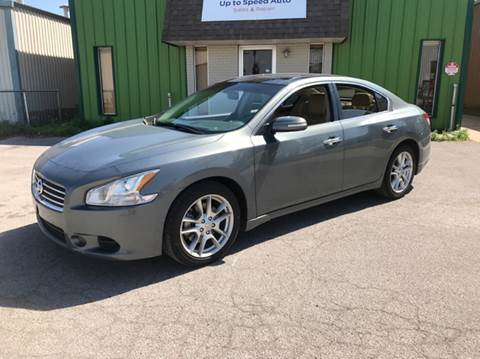 2009 Nissan Maxima for sale at Up to Speed Auto in Tulsa OK