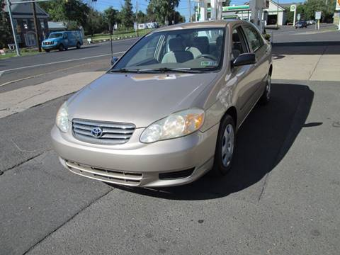 2004 Toyota Corolla for sale in Wrightstown, PA