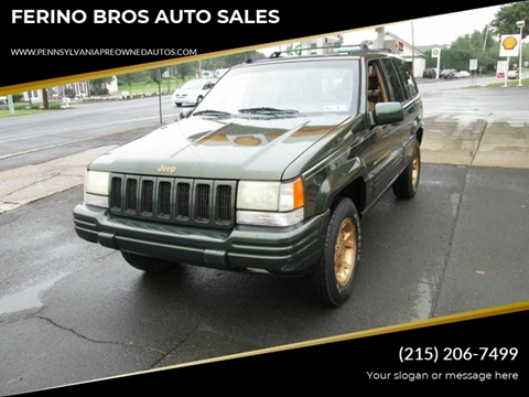 1996 Jeep Grand Cherokee for sale in Wrightstown, PA