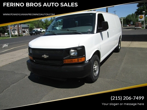 2008 Chevrolet Express Cargo for sale in Wrightstown, PA