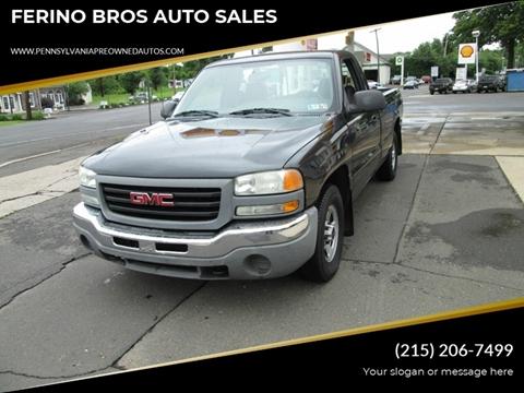 2004 GMC Sierra 1500 for sale in Wrightstown, PA