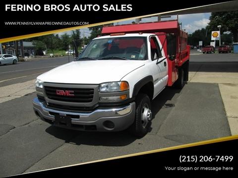 2004 GMC Sierra 3500 for sale in Wrightstown, PA