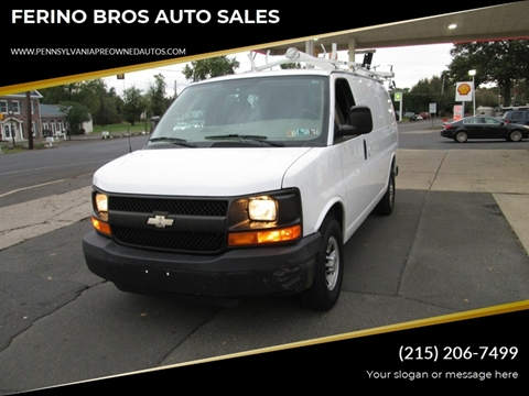 2009 Chevrolet Express Cargo for sale in Wrightstown, PA