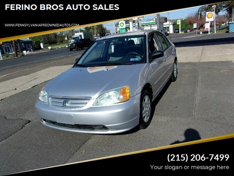2003 Honda Civic for sale in Wrightstown, PA