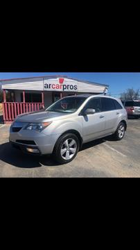 2012 Acura MDX for sale in Cabot, AR